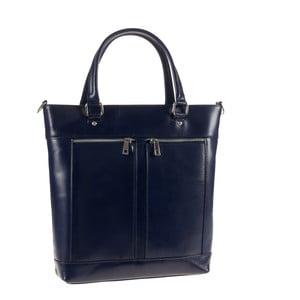 Kožená kabelka Ore Diece Albettone, modrá