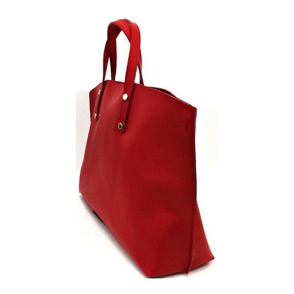 Kožená kabelka Cassia Red