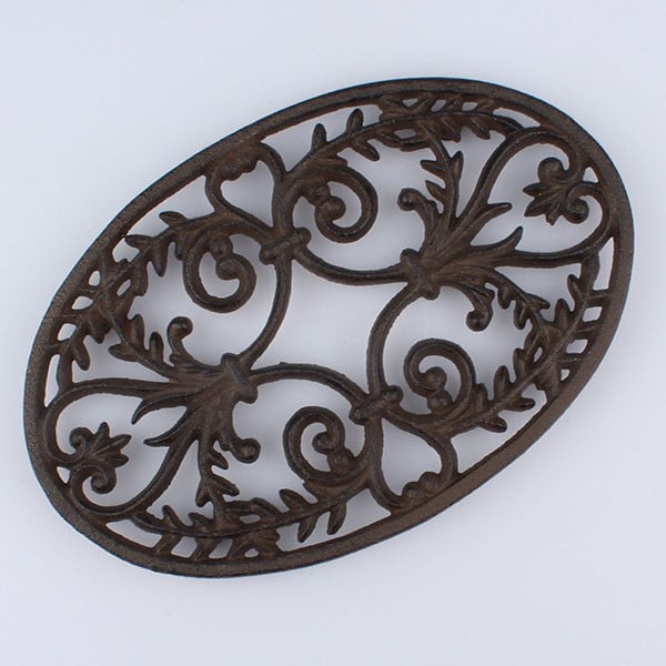 Liatinová podložka pod hrniec Ornament
