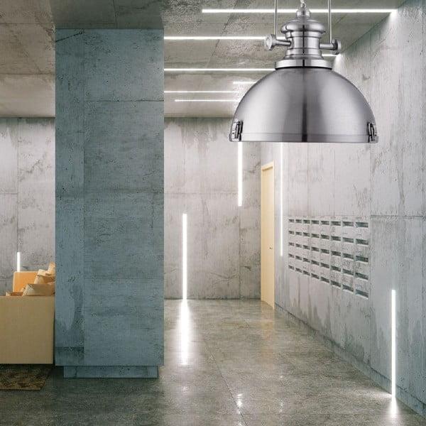Závesné svetlo Industrial Silver