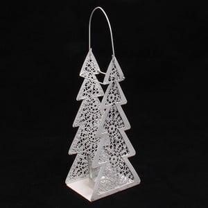 Dekoratívny kovový stromček, 10 cm