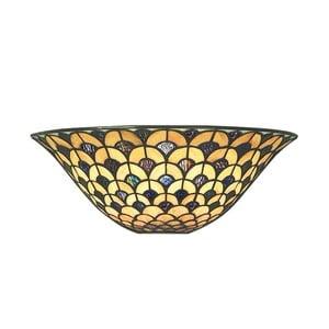 Tiffany nástenné svetlo Orient