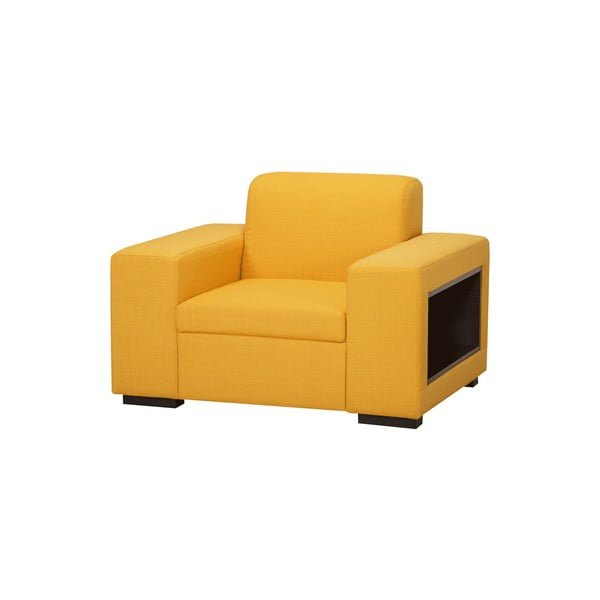 Kreslo A-Maze, žlté