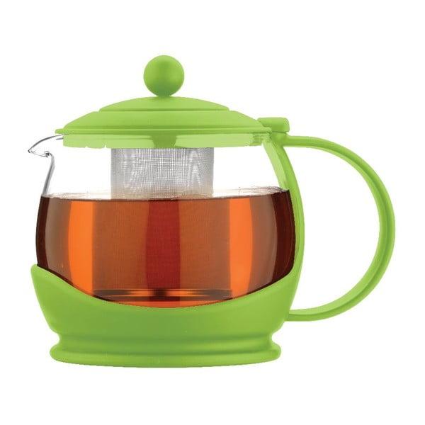 Kanvica na čaj Colours Green 1,2 l