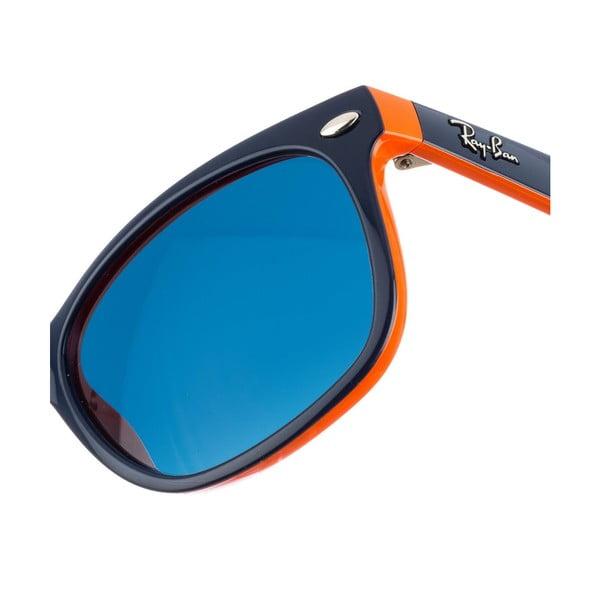 Detské slnečné okuliare Ray-Ban 9052 Black/Dark Green 48 mm