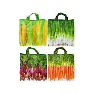 Sada 4 nákupných tašiek Ego Dekor Colors