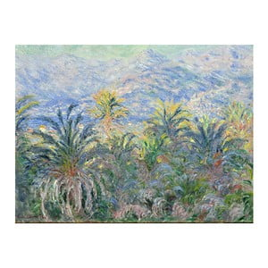 Obraz Claude Monet - Palm Trees at Bordighera, 80x60 cm