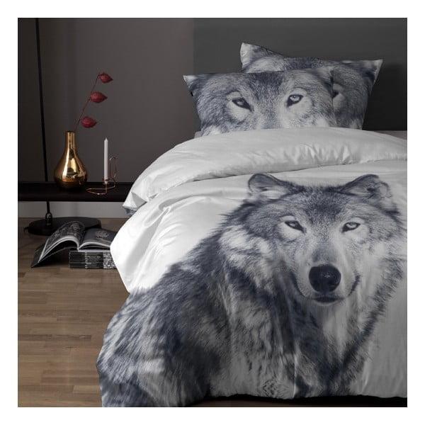 Bavlnené posteľné obliečky Damai White Husky, 200 x 140 cm