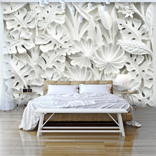 Veľkoformátová tapeta Artgeist Alabaster Garden, 300×210cm
