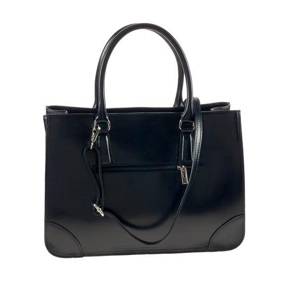 Modrá kožená kabelka Ore Diece Benevento