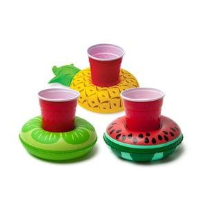 Sada 3 nafukovacích kruhov na nápoje v tvare ovocia Big Mouth Inc.