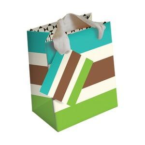 Darčeková taška Caroline Gardner Petite Stripe