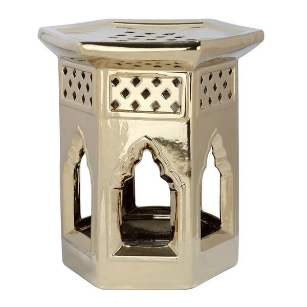 Stolík Moroccan Gold