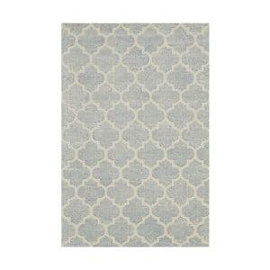 Ručne tuftovaný svetlomodrý koberec Bakero Diamond, 153 x 244 cm