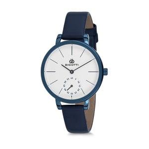 Dámske hodinky s modrým koženým remienkom Bigotti Milano Oceania