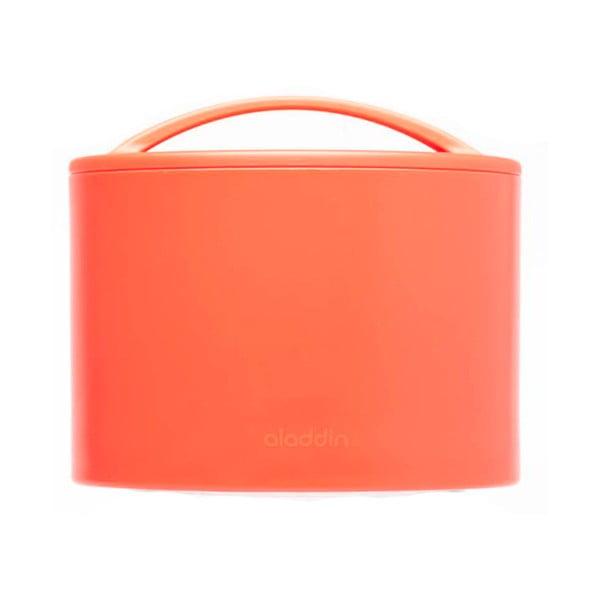 Termobox na desiatu Bento 600 ml, červený