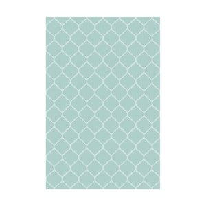 Vinylový koberec Reticular Celeste, 133x200 cm