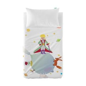 Detská obliečka na vankúš a prikrývka Mr. Fox Little Prince, 120×180 cm
