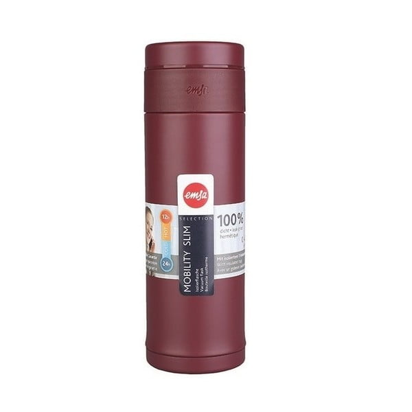 Termo fľaša Mobilitiy Slim Red, 420 ml