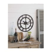 Nástenné hodiny Orchidea Milano Industrial Rusty Black, 50 cm
