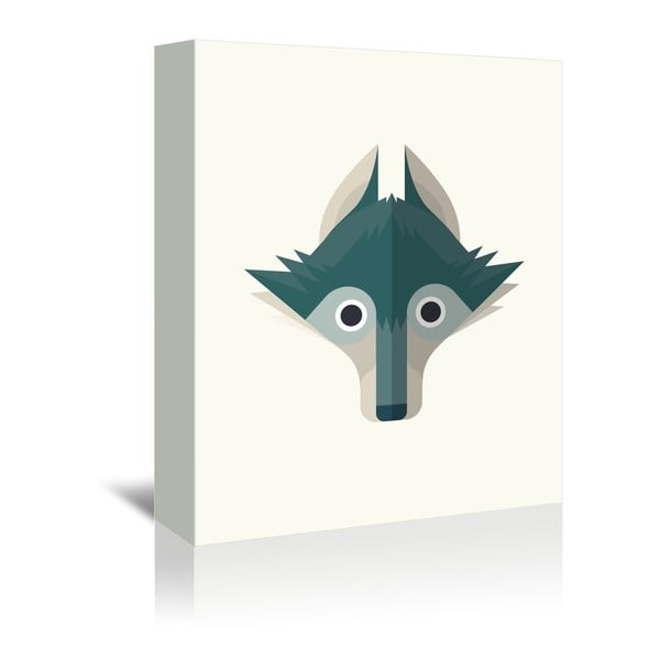 Obraz na plátne Wolf od Christiana Jacksona