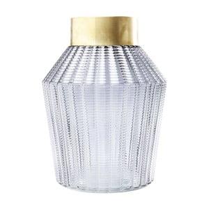 Svetlosivá váza Kare Design Barfly Grey, 30cm