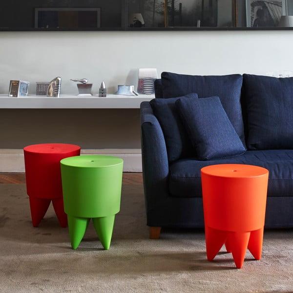 Univerzálny stolík/kôš/chladič na ľad Bubu, antracitový