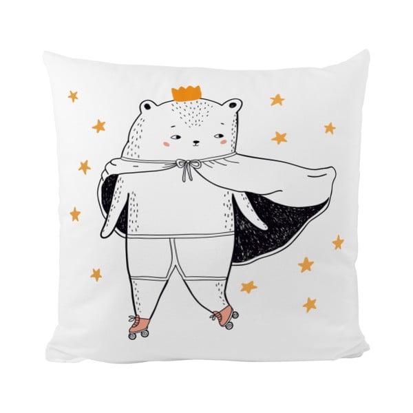 Vankúš This Bear is King, 50x50 cm