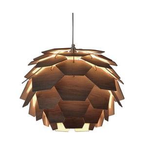 Hnedé závesné svietidlo Scan Lamps Carpatica, ⌀41cm