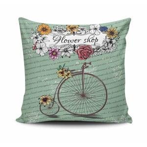 Vankúš s prímesou bavlny Cushion Love Liela, 45 × 45 cm