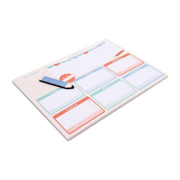 Stolový plánovač Busy B Homework Planner