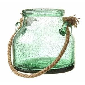 Zelená sklenená dóza Heaven Sends Rope