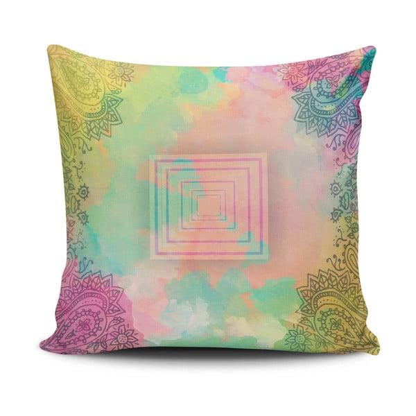 Obliečka na vankúš s prímesou bavlny Cushion Love Balilo, 45 × 45 cm