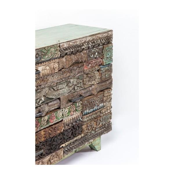Komoda z mangového dreva Kare Design Surprise Puzzle