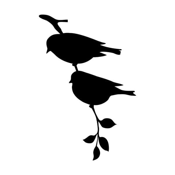 Samolepka Ambiance Birds On Tree Stick