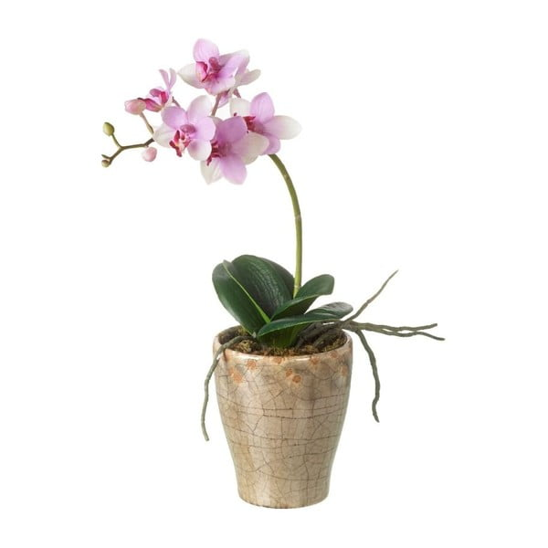 Umelý kvet v kvetináči Orchid