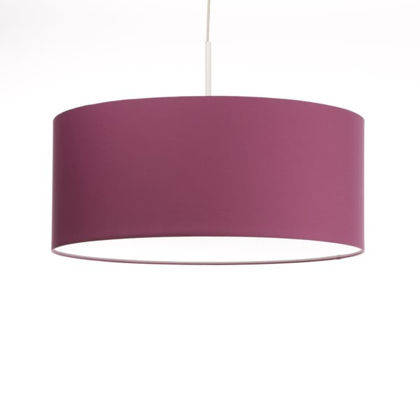 Ružové stropné svetlo Artist, variabilná dĺžka, Ø 60 cm