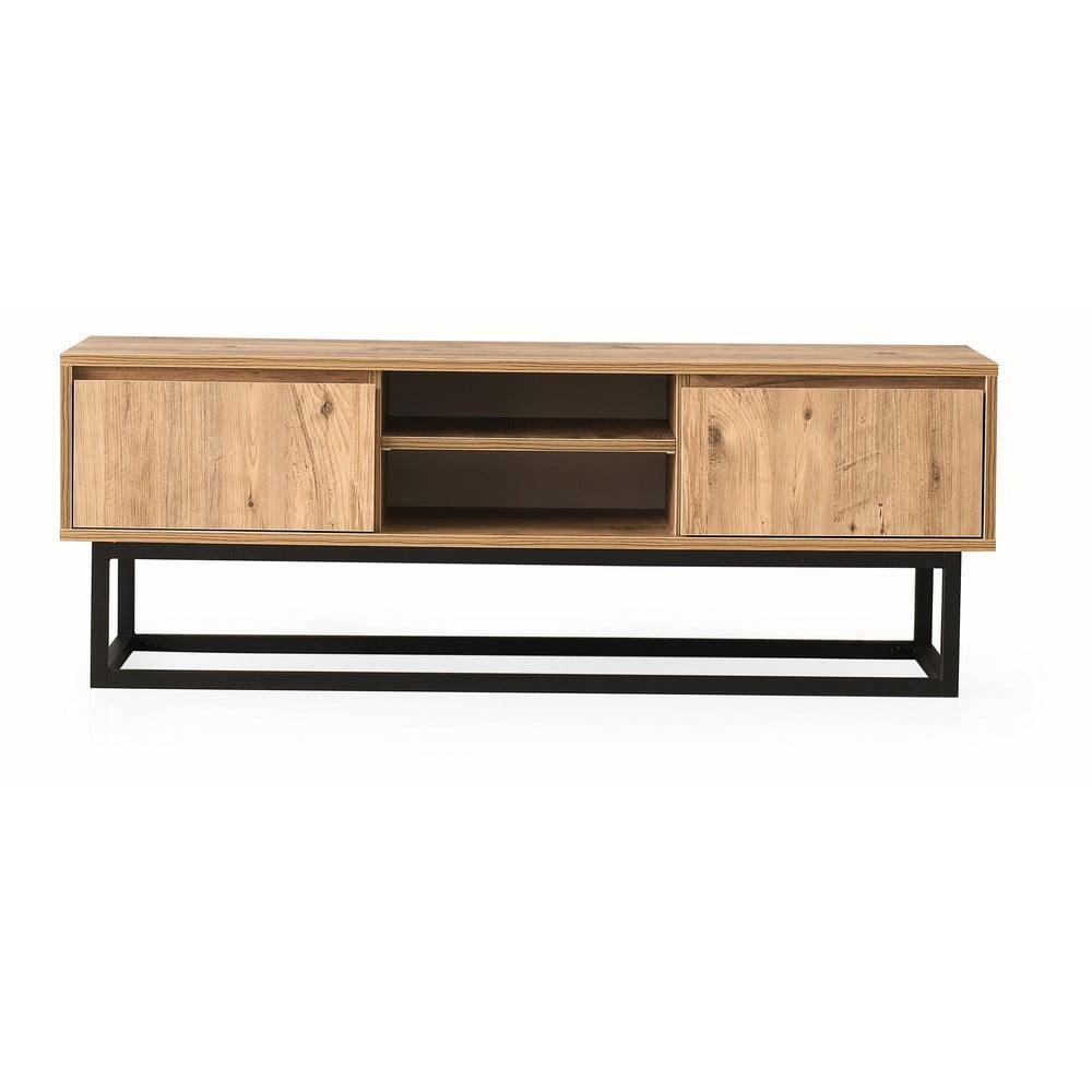 TV stolík v borovicovom dekore Belinda, šírka 180 cm