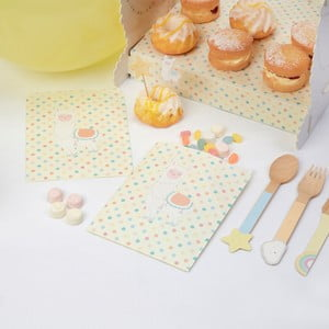 Sada 25 papierových vreciek na sladkosti Neviti Llama Love