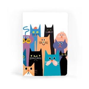 Poznámkový blok U Studio Design Cat Gang