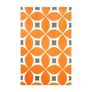 Ručne tuftovaný koberec nuLOOM Deep Orange, 152 x 244 cm