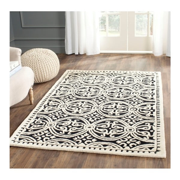 Vlnený koberec  Safavieh Marina Night, 91x152 cm