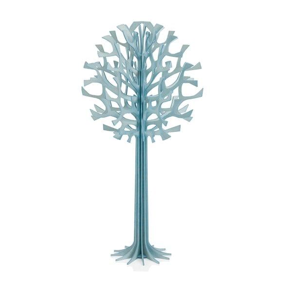 Skladacia dekorácia Lovi Tree Light Blue, 34 cm