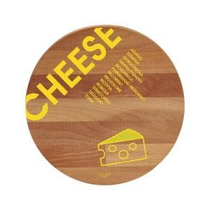 Lopárik z bukového dreva Bisetti Cheese, 30 cm