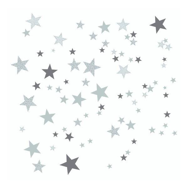 Sivé nástenné samolepky Art For Kids Constellation