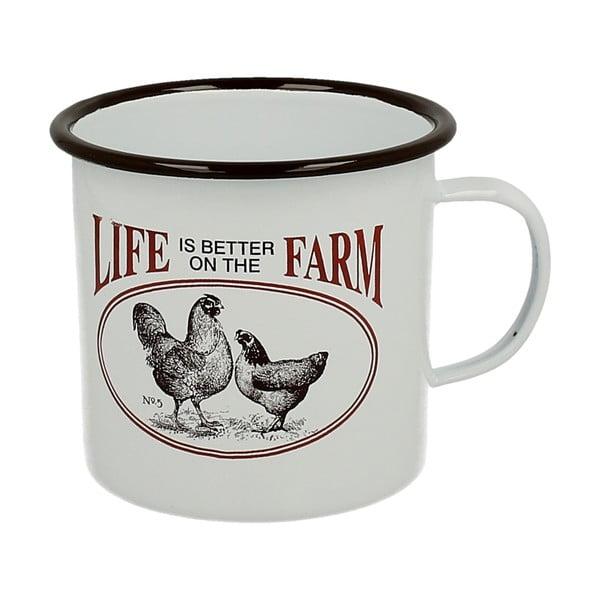 Smaltovaný hrnček Duo Gift Farm Life