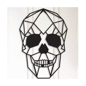Kovová nástenná dekorácia Skull