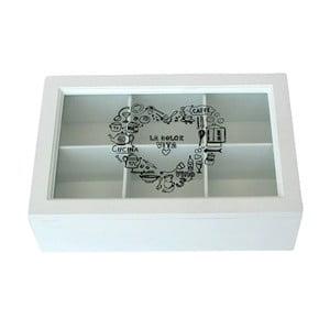 Box na čaj La Dolce Vita, 24x7x16 cm
