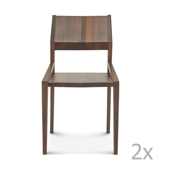Sada 2 drevených stoličiek Fameg Ingunn