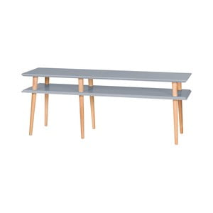 Tmavosivý konferenčný stolík Ragaba Mugo, 139 cm